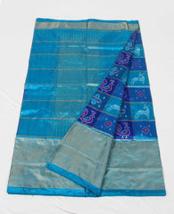 pochampally ikat silk saree - fpoc015523