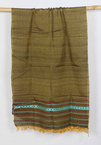 ASSAM COTTON DUPATTA -WD075
