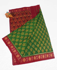 Pochampally ikat cotton saree - fPC01991