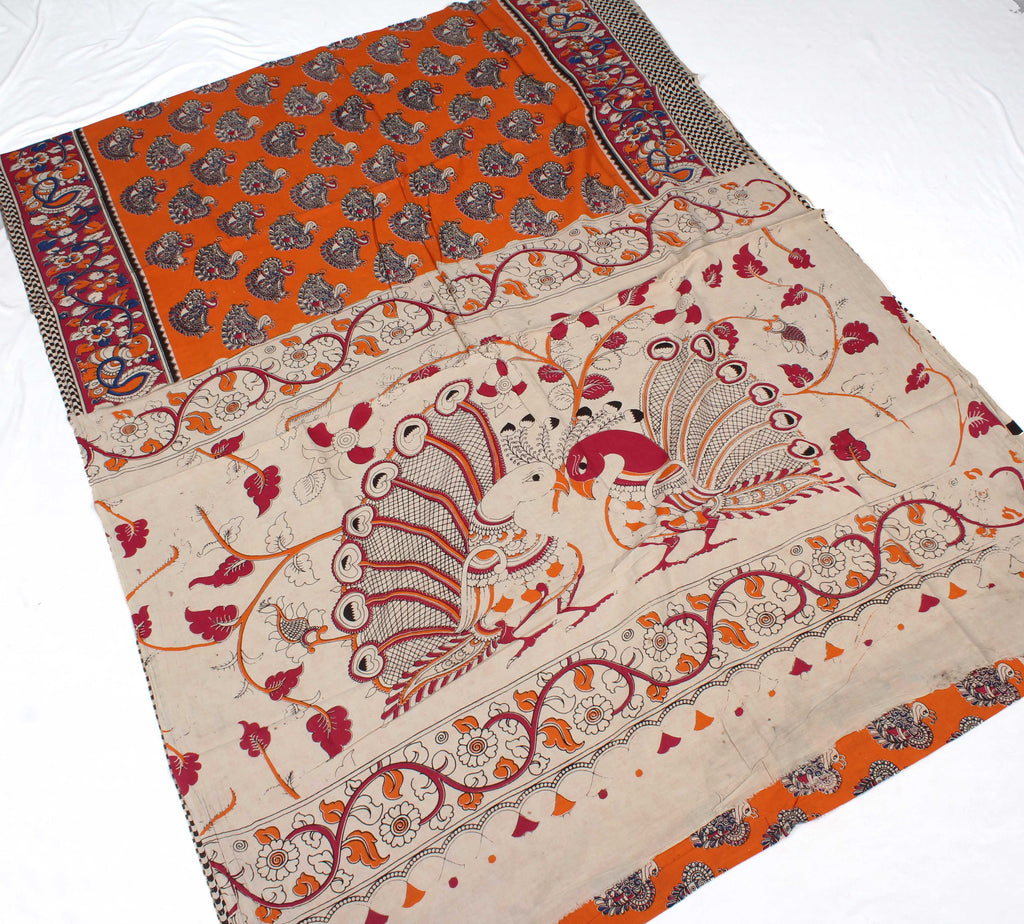 kalamkari cotton saree - frsslklsact54960