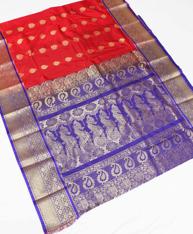 Paithani Art Silk All Over Butas Saree - fdstrpnsaas33844