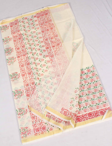 Kota Art Silk / Cotton Saree - fKOTA05403