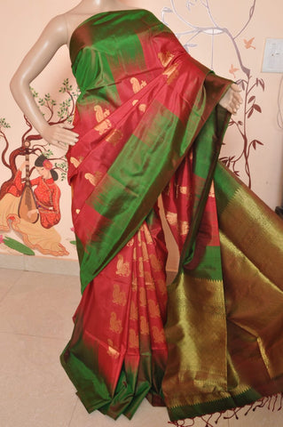 Pure Kanchipuram Soft Silk Saree