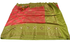 Chiniya Silk Saree-WPS01441