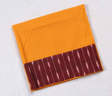 Mangalagiri Ikat Patch Border Blouse Material-WUB00728