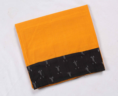 Mangalagiri Ikat Patch Border Blouse Material-WUB00731