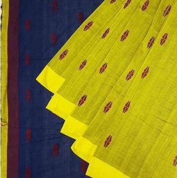 Assam Cotton Saree - WPS0176 - Weavesmart
