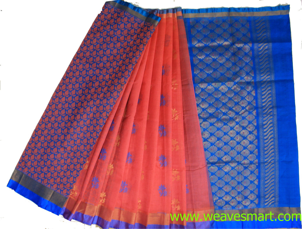 Chirala Silk / Cotton Saree - WPS0259 - Weavesmart