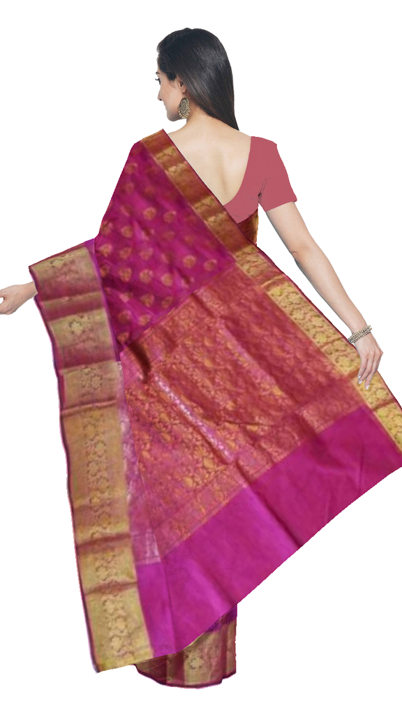 Banaras Art silk/Cotton Saree - fBNR07741