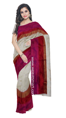 Pochampally Ikat Silk Saree - fPOC010713