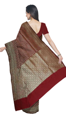 Banaras Art silk/Semi Georgette Saree - fBNR07058