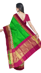 Pochampally Ikat Silk Saree -fpoc010576