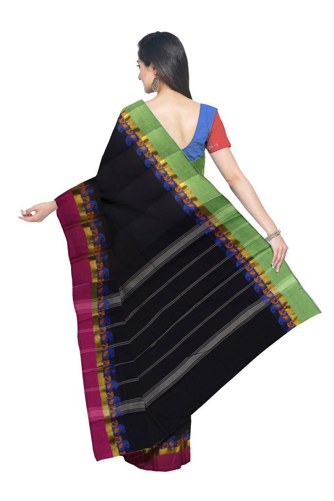 Handloom Kanchipuram Cotton Saree - WPS0886