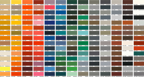 Ral Paint Colours Spray Paint Ral Codes 14