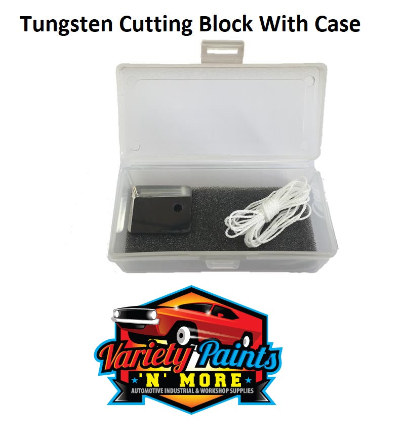 Tungsten Cutting Block With Case
