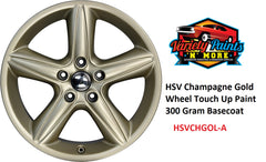 HSV Champagne Gold Wheel Paint Colour Basecoat  Aerosol Paint 300 Grams