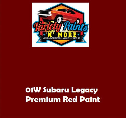 Variety Paints 01W Premium Red SUBARU Acrylic Touch Up Paint