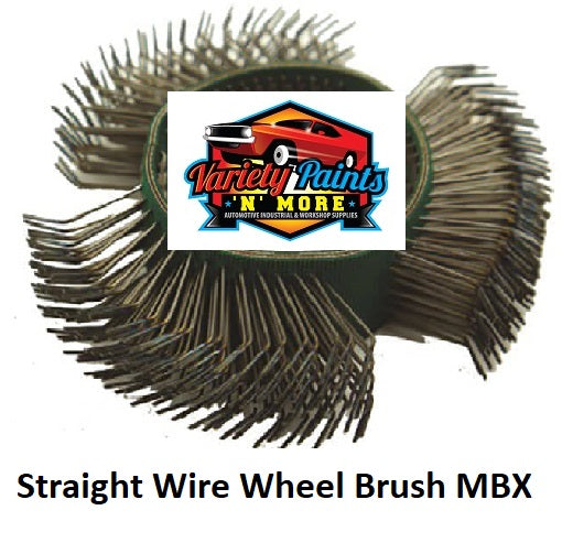 Straight Wire Wheel Brush MBX