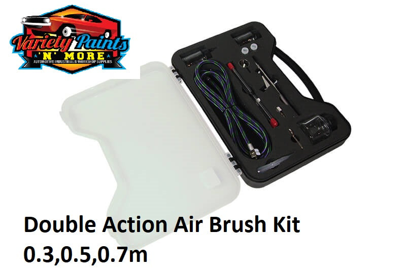 Air Brush Double Action   Kit 0.3,0.5,0.7m