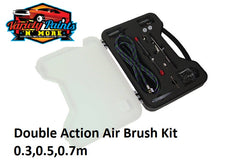Double Action Air Brush Kit 0.3,0.5,0.7m Variety Paints N More
