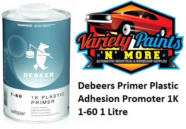 Debeers Primer Plastic Adhesion Promoter 1K 1-60 1 Litre