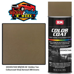101HOLTAN WB/HX-HZ  Holden Tan  Colourcoat Vinyl Aerosol 300 Grams