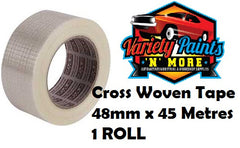 Cross Woven Filament Tape 48mm x 45m SINGLE