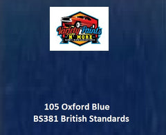 105 Oxford Blue British Standard Custom Spray Paint