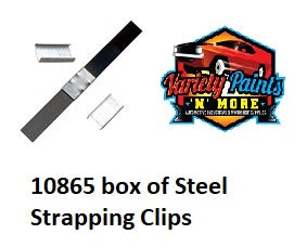 Steel Strapping Clips- 13mm  #10865
