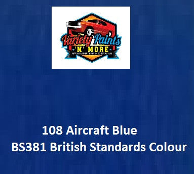 108 Aircraft Blue British Standard Custom Spray Paint