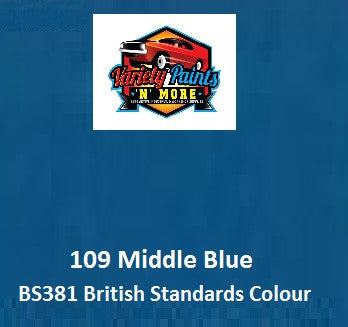 109 Middle Blue British Standard Custom Spray Paint