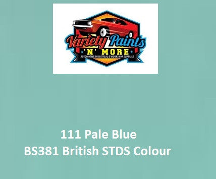 111 Pale Blue British Standard Custom Spray Paint