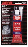 Abro Red RTV Gasket Maker  Variety Paints N More Wangara W.A