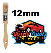 Unipro Flat Unpainted Wooden Paint Brush 12mm