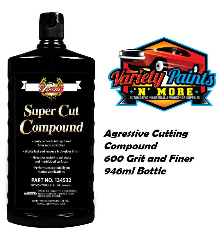 Presta Super Cut Cutting Compound 946ml