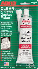 Abro Clear Gasket Maker 85 Gram Variety Paints N More Wangara W.A