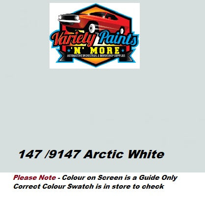 147 Arctic White Mercedes Acrylic Touch Up Paint 300 Grams
