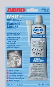 Abro Gasket Maker White 85 GRAMS 14-AB