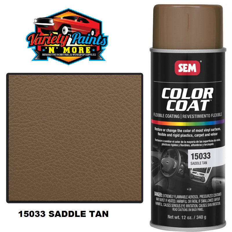 15033 SEM Saddle Tan Colourcoat Vinyl Aerosol 15033