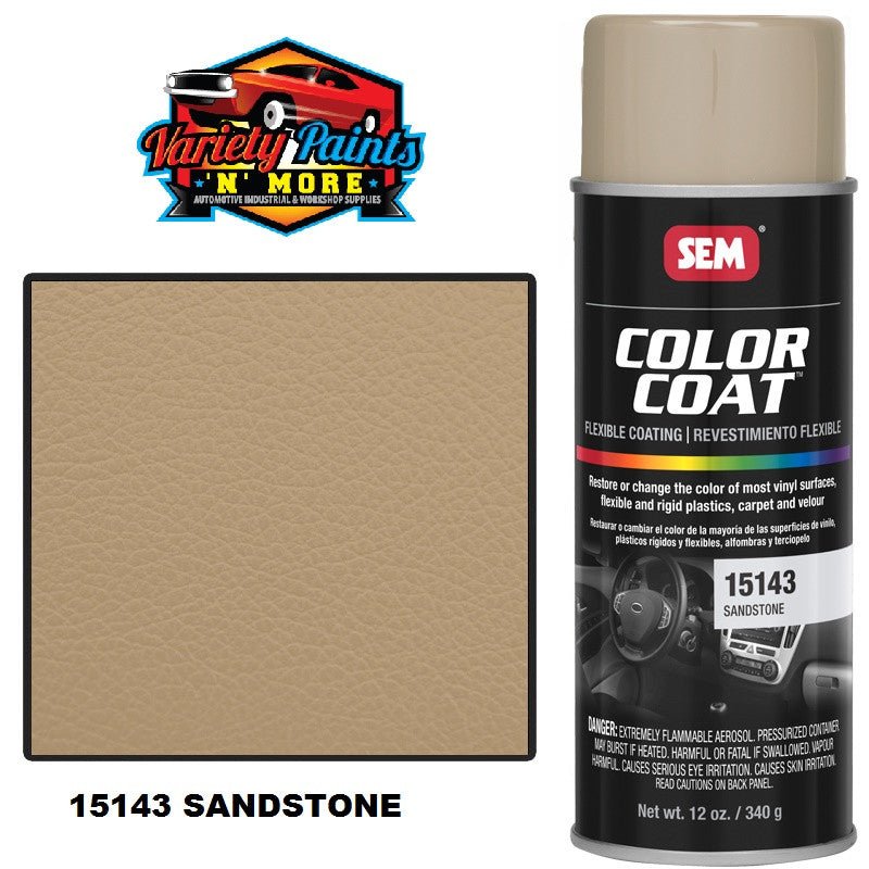 15143 SEM Sandstone Colourcoat Vinyl Aerosol 300 Grams (1708)