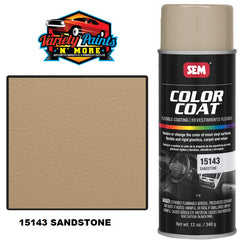SEM Sandstone Colourcoat Vinyl Aerosol Variety Paints N More Wangara