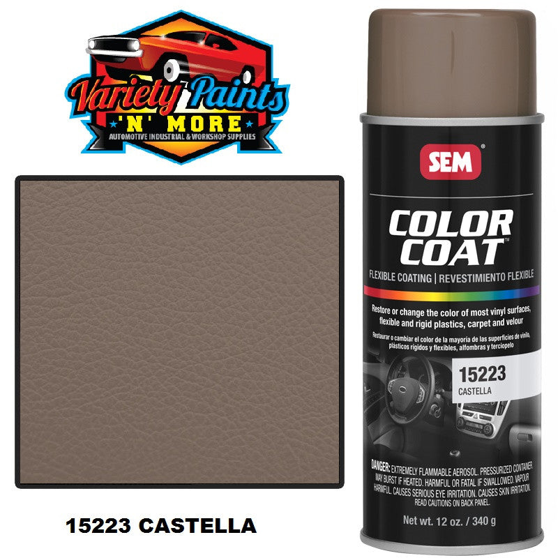 15223 Castella SEM Colourcoat Vinyl Aerosol 300 Grams
