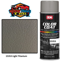 15353 Light Titanium Colourcoat Vinyl Aerosol 300 Grams