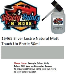 15465 Silver Lustre Natural Matt Touch Up Bottle 50ml