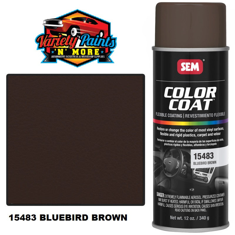 1548 SEM Bluebird Brown Colourcoat Vinyl Aerosol