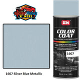 1607 Silver Blue Metallic Colourcoat Vinyl Aerosol