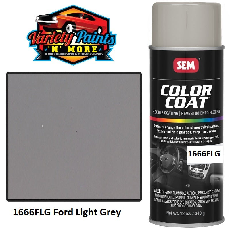 1666FLG Ford Light Grey SEM Colourcoat Vinyl Aerosol