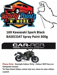 169 Kawasaki Spark Black BASECOAT Spray Paint 300g