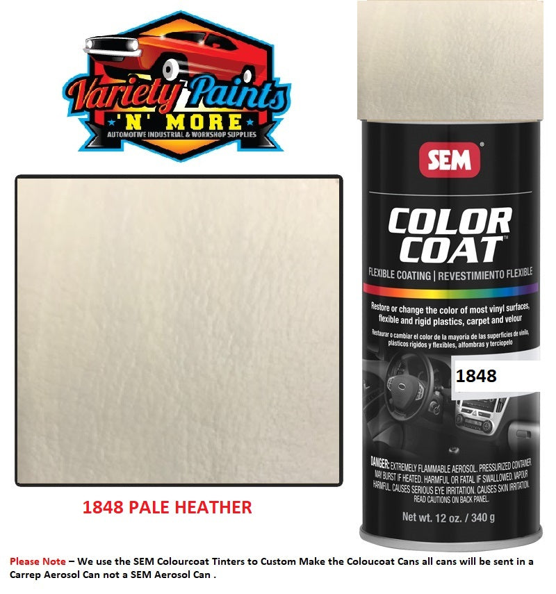1848 Pale Heather SEM Colourcoat Vinyl Aerosol 300 Grams