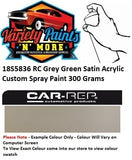 18S5836 RC Grey Green Satin Acrylic Custom Spray Paint 300 Grams